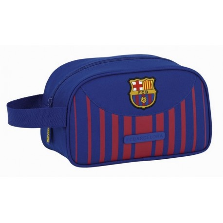 Neceser FC Barcelona de un Compartimento con Asa Lateral