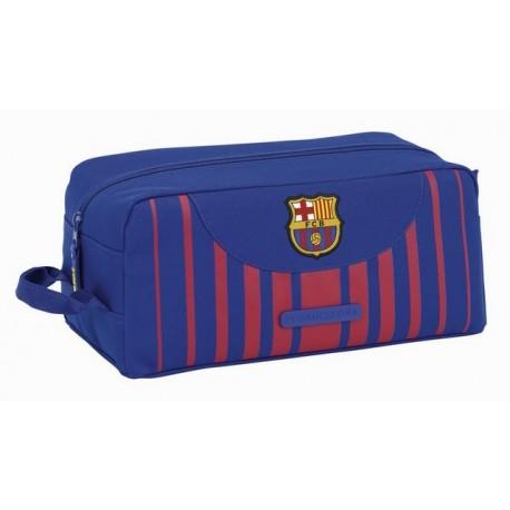 Zapatillero FC Barcelona con Asa Lateral