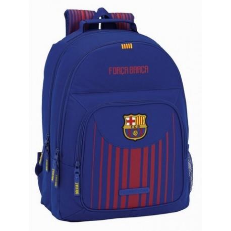 Mochila FC Barcelona Doble Compartimento, Adaptable a Carro