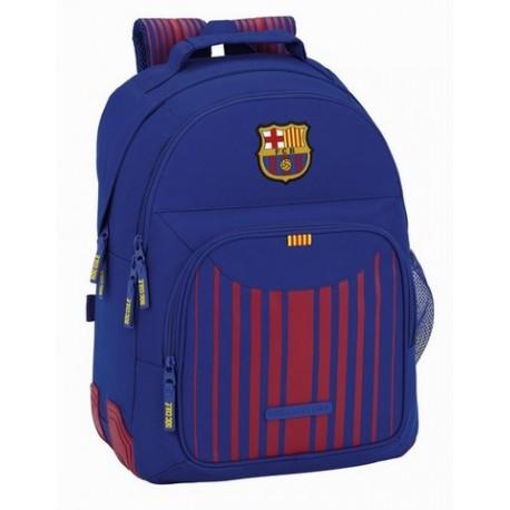 Mochila FC Barcelona, Doble Compartimento, con Refuerzos Laterales