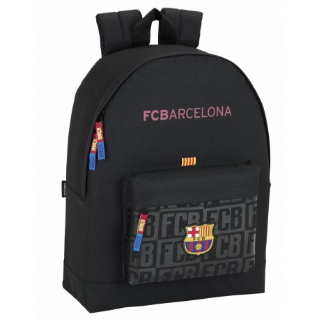 Mochila FC Barcelona de 43 cm Black