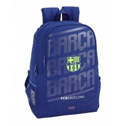 Mochila Grande del FC Barcelona, Adaptable a Carro, en Azul