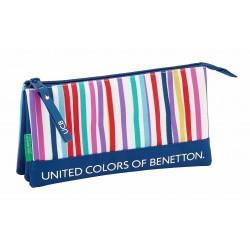 Portatodo Tres Compartimentos Benetton Lines