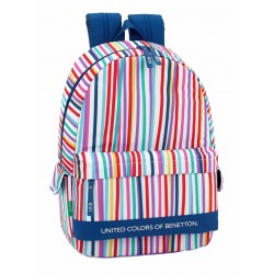 Mochila Benetton Line Adaptable a Carro, con Bolsos Laterales