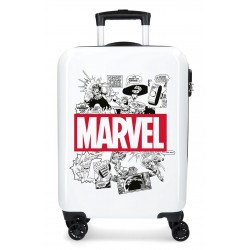 Trolley Cabina Marvel, Colección Comic de 4 Ruedas y en ABS
