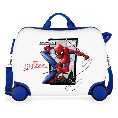 Maleta Infantil Correpasillos  50 cm Spiderman Action