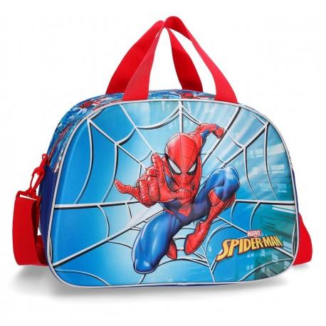 Bolsa de Viaje de 40 cm Spiderman Street, con Asa y Bandolera
