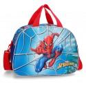 Bolsa de Viaje de 40 cm Spiderman Street, con Asa y Bandolera y Efecto 3D