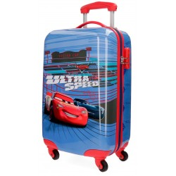 Trolley Cabina Cars Ultra Speed de 4 Ruedas y en ABS
