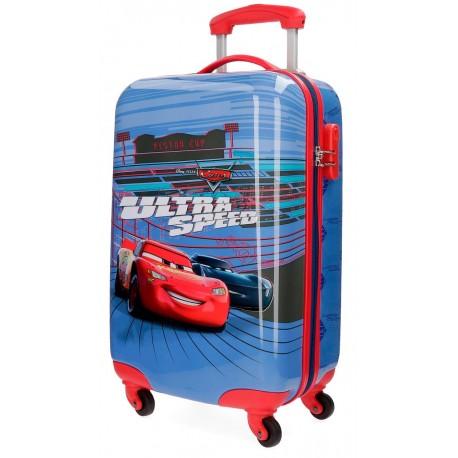 Trolley Cabina Cars Ultra Speed de 4 Ruedas y en ABS