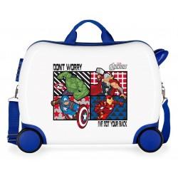 Maleta Infantil Correpasillos 4 ruedas All Avengers