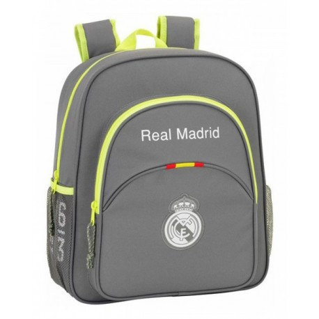 Mochila adaptable Real Madrid Gris Junior