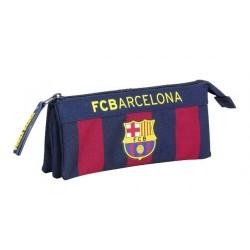 Portatodo triple compartimento del Barcelona