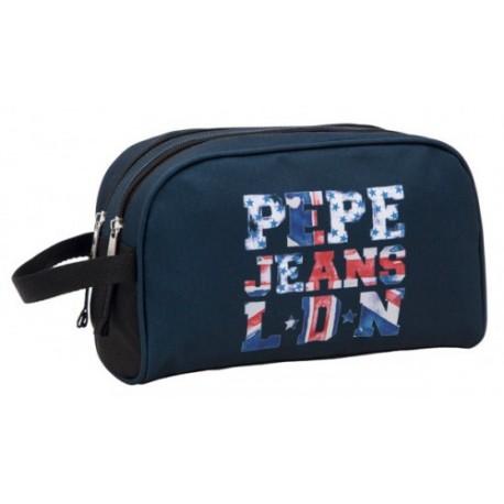 Neceser doble compartimento Pepe Jean  Letters Log