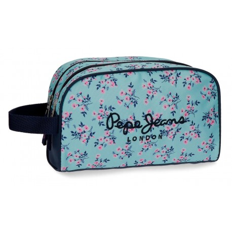 Neceser Doble Compartimento Pepe Jeans Danise Adaptable a Trolley