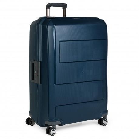Maleta Grande con Cierre Hermético Jaslen Londres  azul