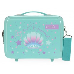 Neceser en ABS con Asa y Bandolera, Adaptable a Trolley Enso Be A Mermaid